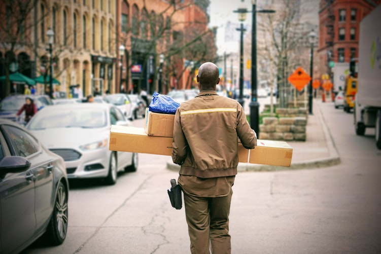 parcel delivery companies